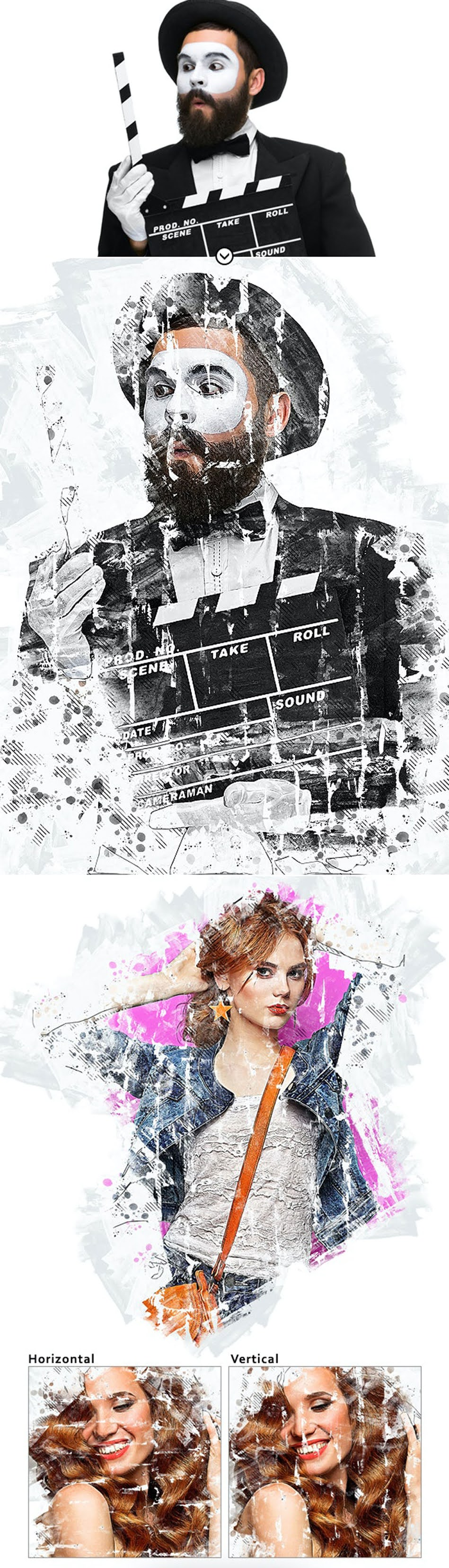 MixArt 4 Photoshop Action 27679860 Free Download