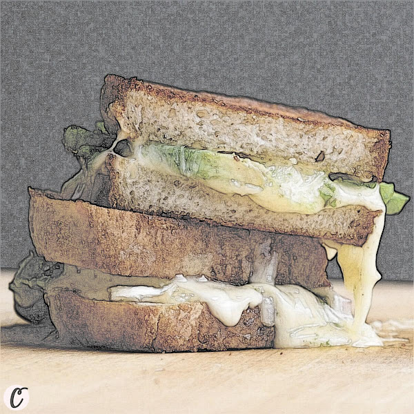 Grilled Cheese 🧀 and Avocado 🥑 Sandwich