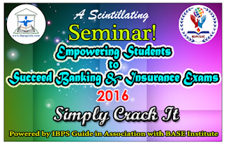 Empowering Students to Succeed Banking & Insurance Exams 2016