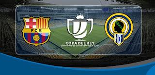 اهداف مباراة برشلونة وإيركوليس 1-1| كأس ملك إسبانيا 30-11-2016