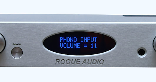 Audiophile Review! Rogue Audio RP-1 Stereo Tube Preamplifier