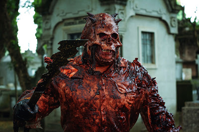 Sessão da meia-noite - Filme Skull: a máscara de Anhangá Mila Cavalcante - Divulgação