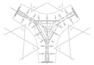 Denah Struktur Atas Kindom Tower