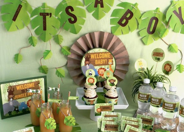 Cute Animals Party Baby Shower ideas