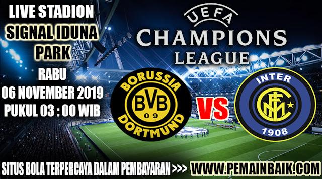 Ulasan Pertandingan Borussia Dortmund VS Intermilan Di Liga Champions