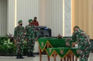 Pangdam Hasanuddin Pimpin Sertijab Pejabat Utama Kodam