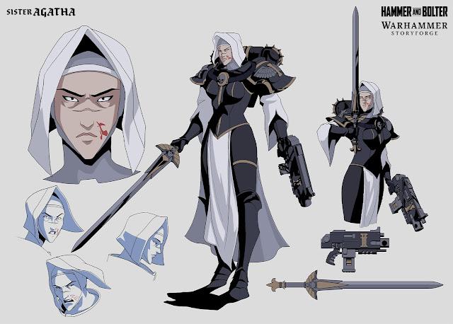 Sister Agatha Hammer and Bolter