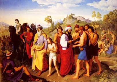 José sendo vendido à escravidão