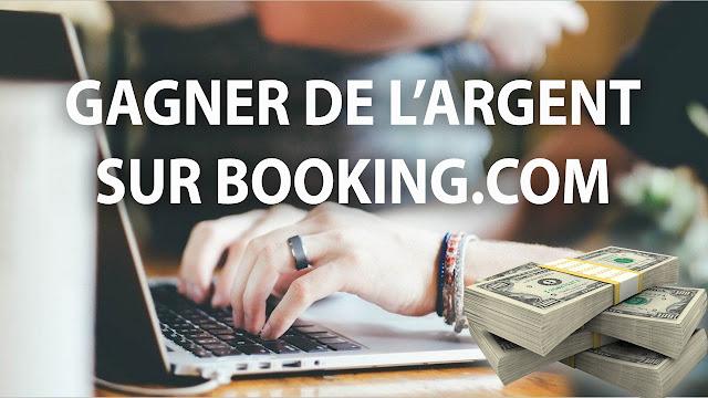 Comment gagner de l'argent avec Booking.com