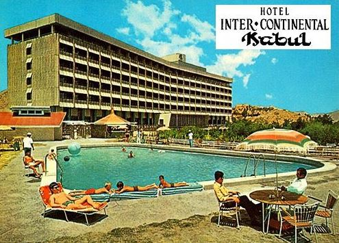 Image Attribute: File photo of Hotel InterContinental, Kabul (in 70's), Before the Soviet Invasion