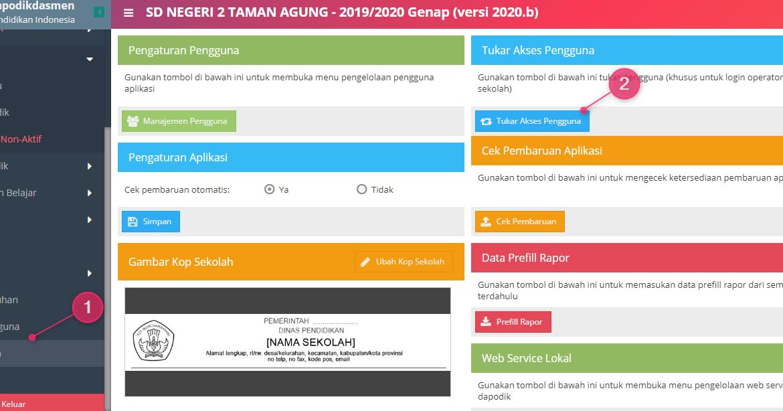 Cara Sinkron Aplikasi Dapodik 2020.b - Blog Operator Sekolah