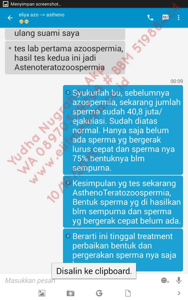 Testimoni Pasien Azoospermia