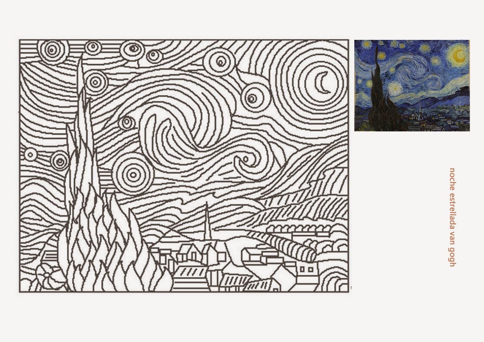 Con tu mirada observa imagina y crea cuadros para pintar for Imagenes de cuadros abstractos para colorear