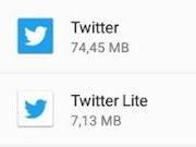 Consigue más espacio usando versiones 'lite' de tus app.