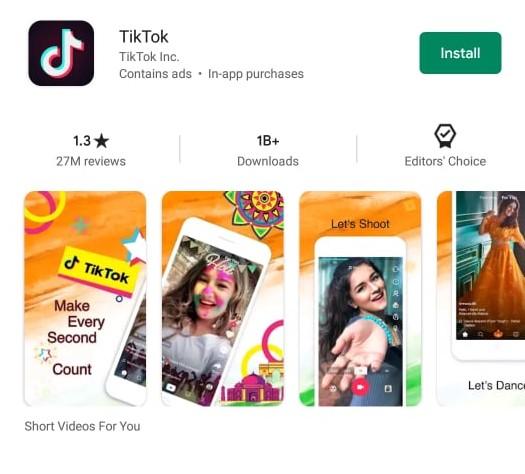 Tik Tok Rating picture