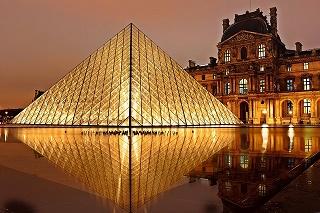 パリのルーブル美術館(フランス)