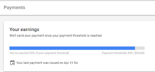 Minimal Pembayaran Google Adsense Dengan Transfer Bank Lokal