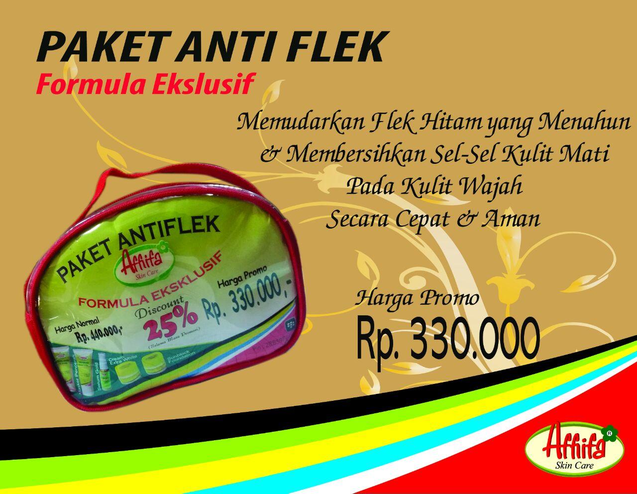 Paket Anti Flek Eksklusif