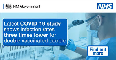 infection rates a third in vaccinated people