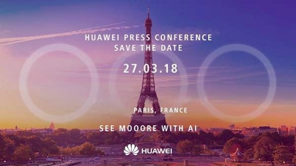 Huawei hints at the P20 with three cameras from behind