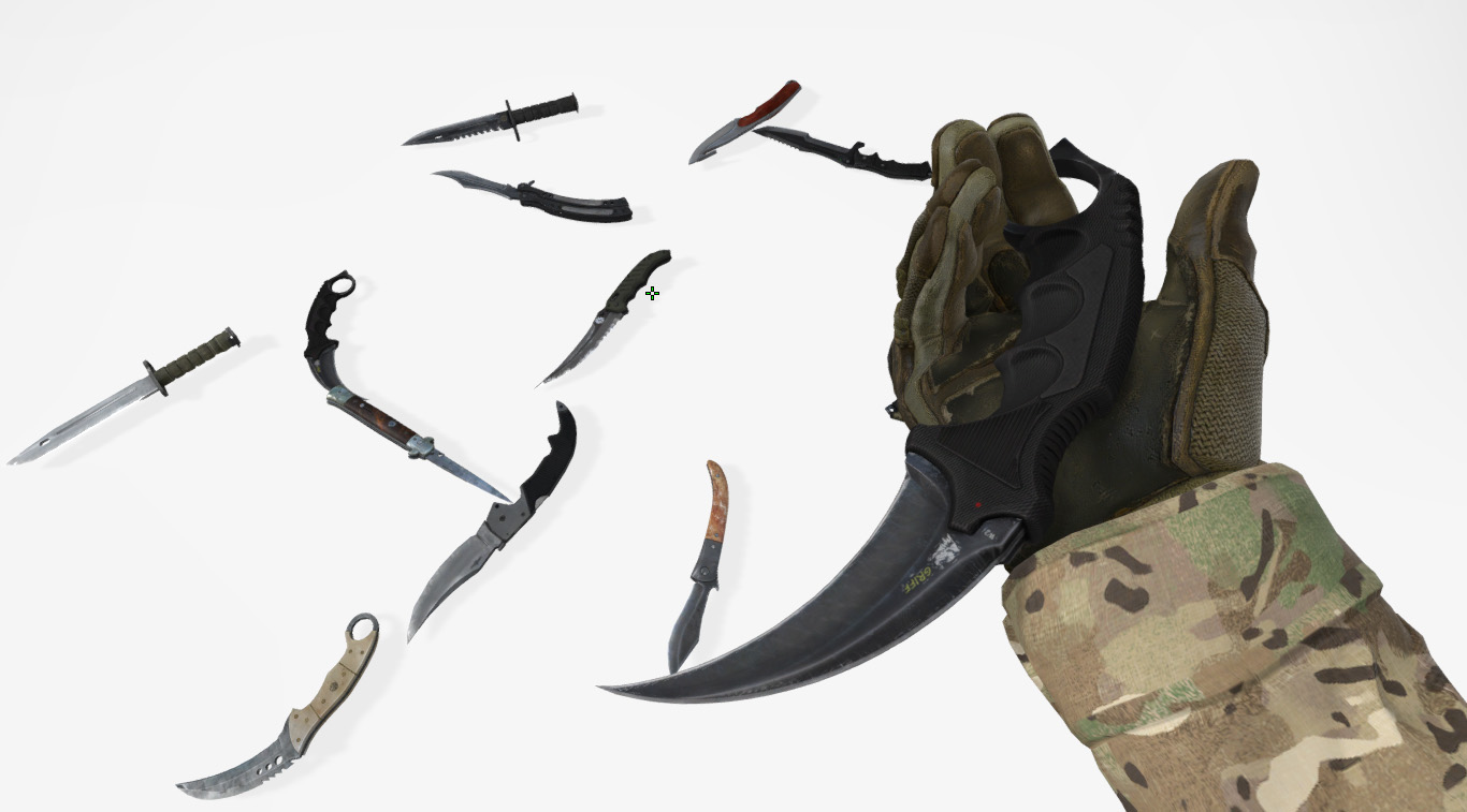 How to get any knife in CS:GO - butterfly knife, bayonet knife and others