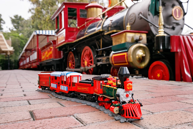 LEGO 71044 Disney Train and Station 迪士尼火車與車站