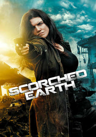 Scorched Earth 2018 BRRip 300MB English 480p ESub Watch Online Full Movie Download bolly4u