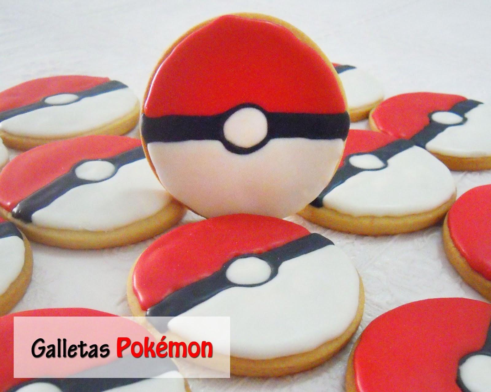 Galletas Pokémon Tutorial Cupcake Creativo