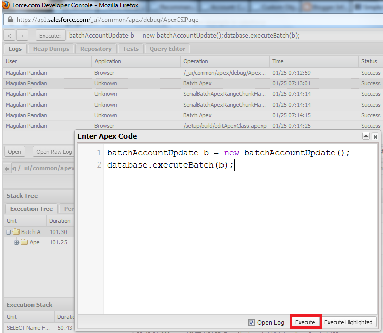 Infallible Techie: Simple Batch Apex example in Salesforce