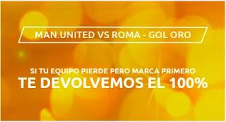 Mondobets promo United vs Roma 29 abril 2021