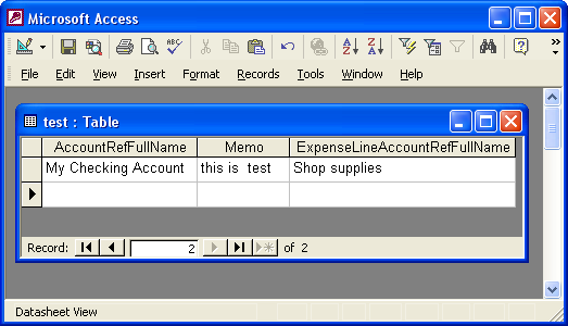 How to Migrate Transactions from Microsoft Access to