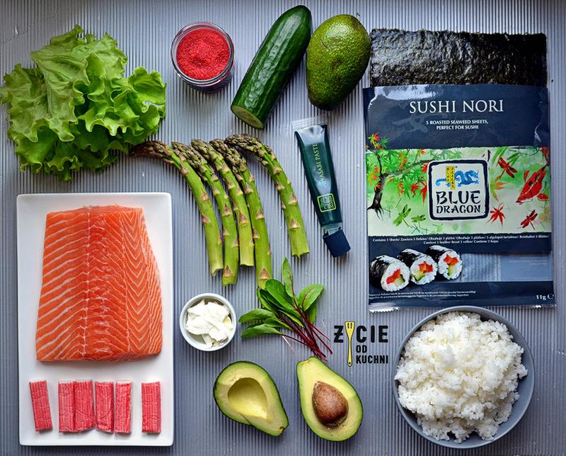 nori blue dragon, ryz do sushi blue dragon, wasabi blue dragon, sushi, blue dragon, domowe sushi, jak zrobic sushi, uromaki, futomaki, maki, życie od kuchni