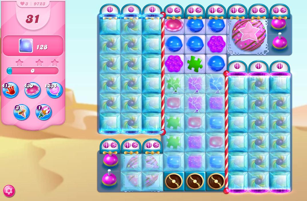Candy Crush Saga level 9723