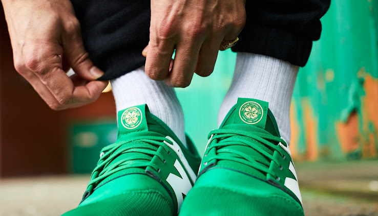celtic new balance 247 trainers