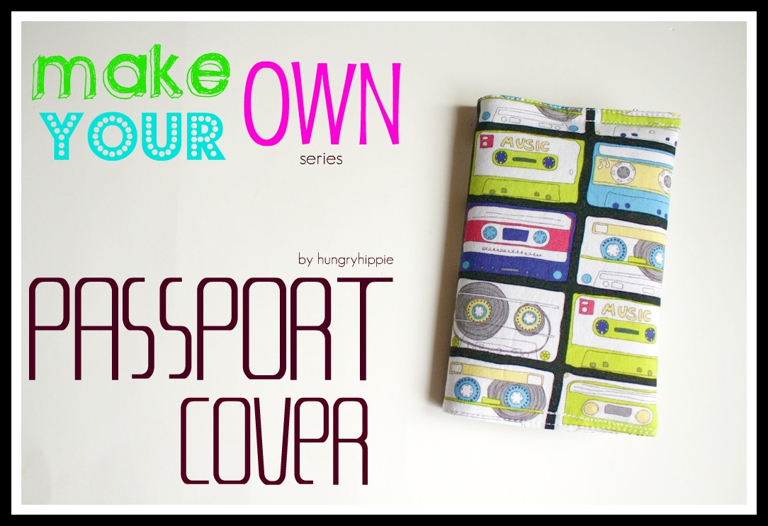 Sewhungryhippie Passport Cover Tutorial Make Your Own Series Project 1