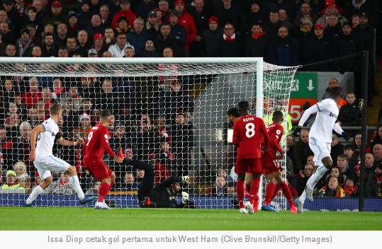 Liverpool vs West Ham United 3-2 Highlights