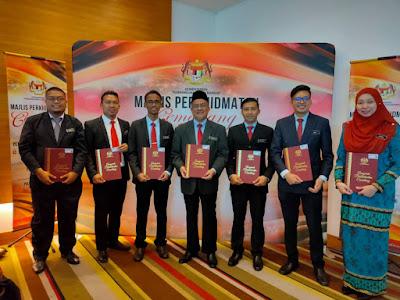 Majlis Perkhidmatan Cemerlang 2019, Zon Sarawak