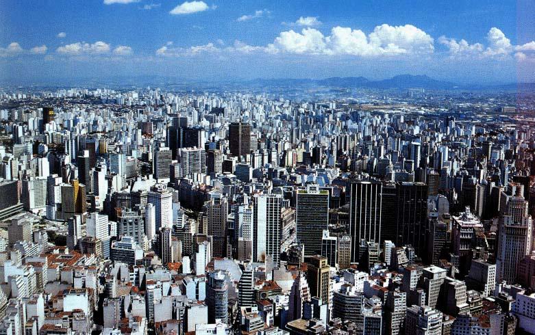 Urbanização no Brasil e no Mundo