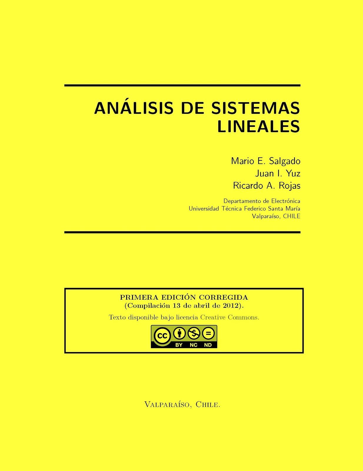 Análisis de sistemas lineales