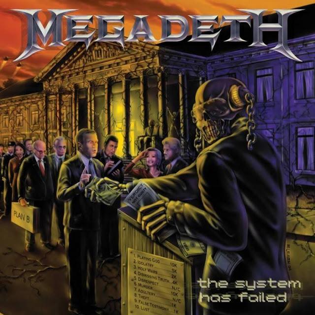 Hidden Illuminati Message Megadeth Cover