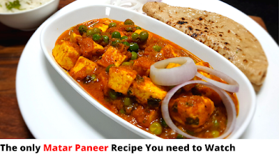 Matar Paneer Recipe  Restaurant Style Matar Paneer Recipe   Asha and Anita मटर पनीर