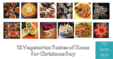 12 Vegetarian Tastes of Xmas for Christmas Day