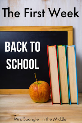 Wondering what to do with your new middle school classes during that first week of school?  Find out here! #backtoschool #firstday #forteachers