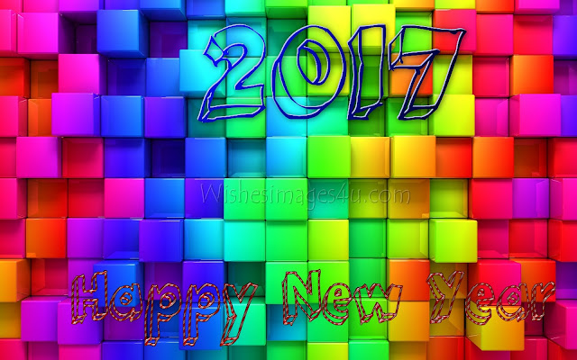 Happy New Year 2017 Artistic 3D Images HD Download For Desktop/PC