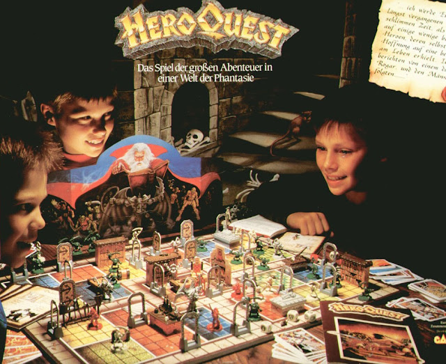 Heroquest starquest battle masters giochi MB Games Workshop