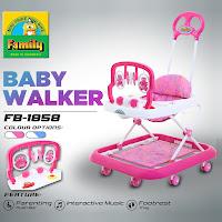 Baby Walker Family FB1858 Alat Belajar Jalan Bayi