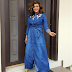 Mercy Aigbe Is Stunning In Denim Gown [Photos]
