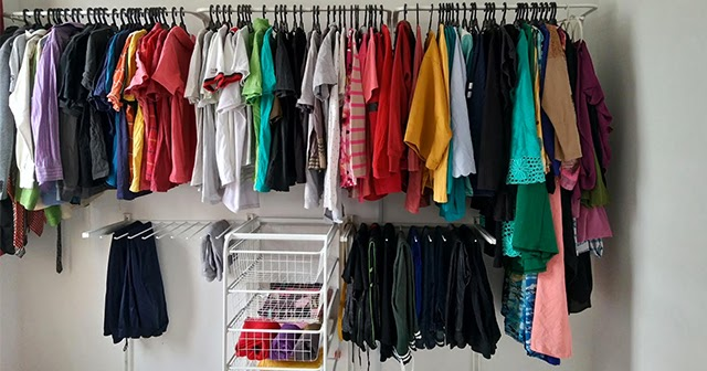 46 Diy Rak Baju Ikea Untuk