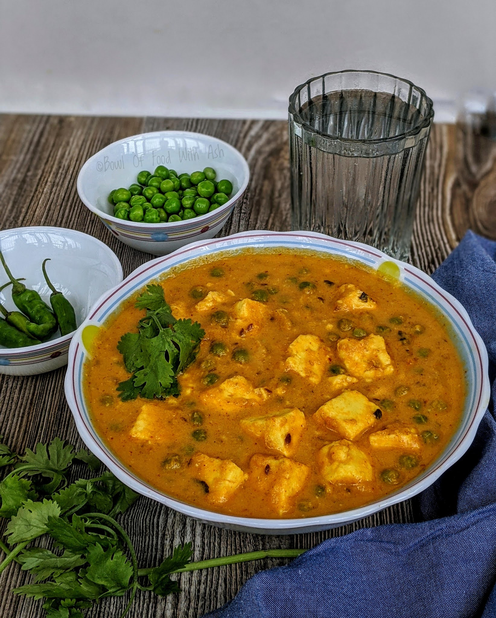 Matar Paneer Recipe | How To Make Restaurant Style Matar Paneer