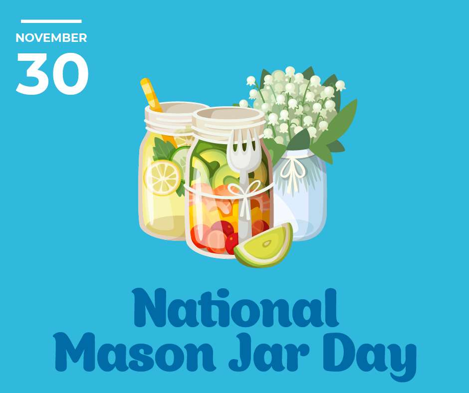 National Mason Jar Day Wishes Awesome Images, Pictures, Photos, Wallpapers